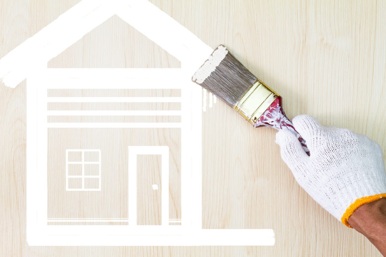 peindre maison