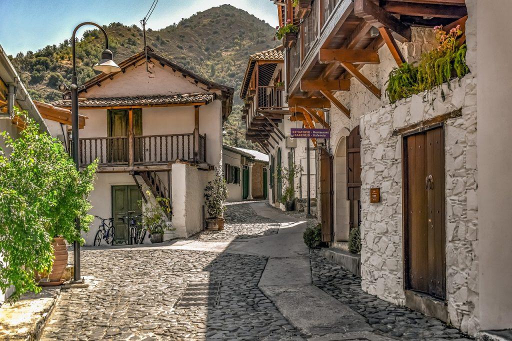 une maison traditionnelle